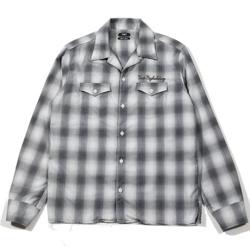 【家族募集します】重岡大毅・仲野太賀ドラマ衣装グレーのチェック柄シャツ