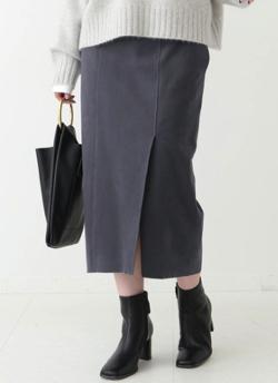スッキリ・岩田絵里奈衣装ネイビーのタイトスカート