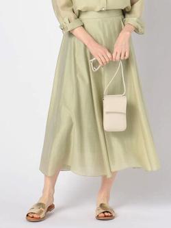 ZIP!水卜麻美 (みとちゃん)衣装ライトグリーンのフレアスカート