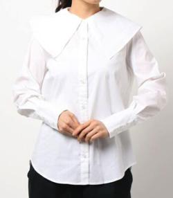 ヒルナンデス!滝菜月ホワイトのシャツ