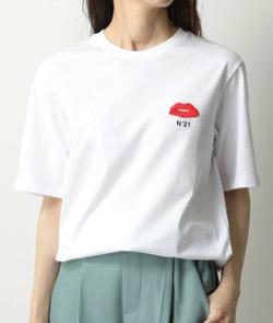ドクターX シーズン7・米倉涼子衣装赤いプチロゴTシャツ