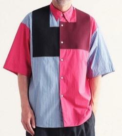 【彼女はキレイだった(かのきれ)・第10話】赤楚衛二・髙橋優斗ドラマ衣装ピンクとストライプの配色シャツ