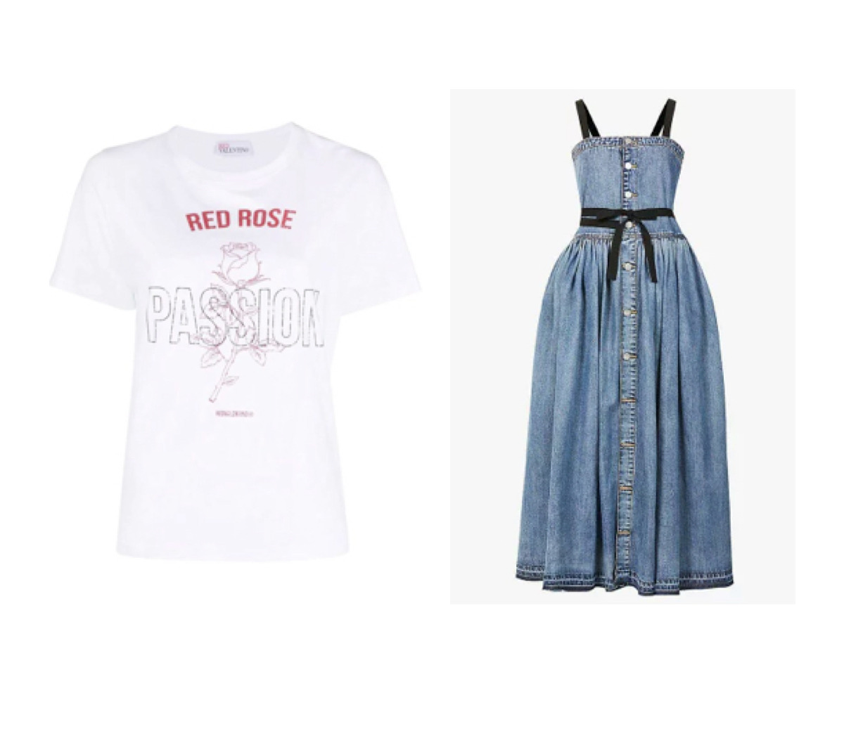 【踊る!さんま御殿!!】ももいろクローバーZの百田夏菜子さんが着用している衣装やファッション・ブランド・購入先をリサーチして紹介しているページです♪【随時更新】【踊るさんま御殿】百田夏菜子(ももクロ) 衣装 デニムドレス・Tシャツかわいいファッションのブランド・購入先紹介♪