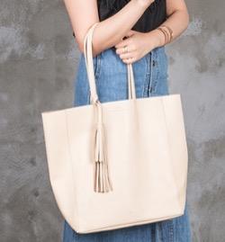 【おかえりモネ】清原果耶衣装ベージュのトートバッグ