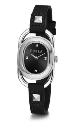 シルバーxブラックの腕時計