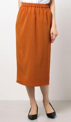 ZIP!水卜麻美 (みとちゃん)衣装ライトブラウンのタイトスカート