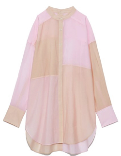 婚姻届に判を捺しただけですが・清野菜名ドラマ衣装ピンクxベージュのシャツ