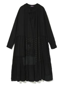 恋です(ヤンガル)杉咲花衣装ブラックのワンピース