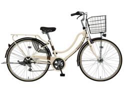 ホワイトの自転車
