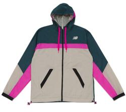 グリーンxライトベージュのジャケット