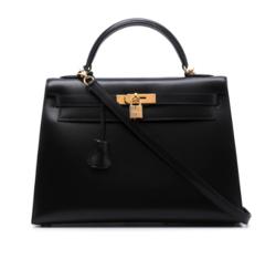 ブラックのハンドバッグ