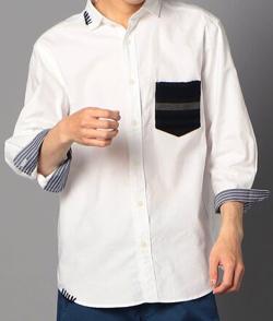 【細田佳央太】ホワイトのシャツ