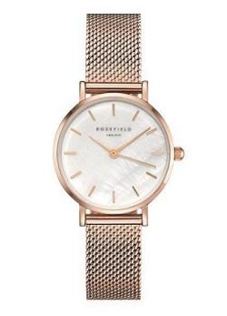 ピンクゴールドの腕時計