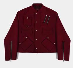レッドのジャケット