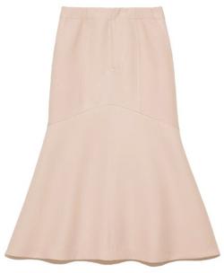 ライトピンクのマーメイドスカート