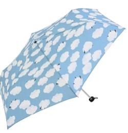 雲柄の折りたたみ傘