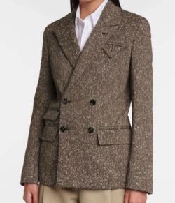 ブラウンのジャケット