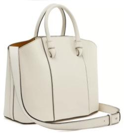 白いショルダーバッグ